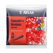 Espaçador e Nivelador para Piso 1.5mm com 100 un- Atlas AT50/15 -