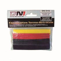 Espaguete Termo Retratil 10mm Dni - Dni5110 C/ 10 -
