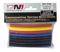 Espaguete Termo Retrátil 6mm - Dni 5106 C/15pcs -