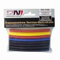 Espaguete Termo Retrátil 6mm - DNI 5106 -