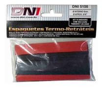 Espaguete Termo Retrátil 8mm - Dni 5108 C/15pcs -