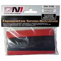 Espaguete Termo Retrátil 8mm - DNI 5108 -