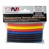 Espaguete Termo Retrátil - DNI, 4mm, Kit 5104 -