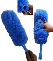 Espanador Eletrostático Perfect Azul Limpeza a Seca Azul Casa -