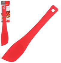 Espatula de Pao Duro de Silicone Vermelho 29cm Wellhome - Wellmix