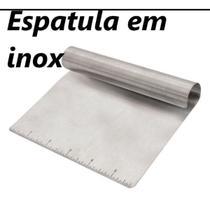 Espatula Para Massas Mimostyle Aço Inox Confeiteiro Padeiro - Mimo Style