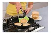 Espatula Pinça Silicone Clever Cozinha Fritura Novidade - Morgadosp