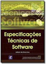 Especificacoes tecnicas de software - Editora erica ltda