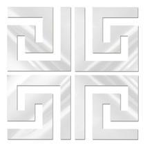 Espelhado Decorativo Labirinto 50 x 50 cm - Decoramix