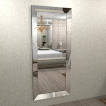 Espelho com moldura chanfrado espelhado 1,80 x 0,80 - ESP01-180 - Camarim Móveis
