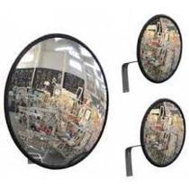 Espelho Convexo 40cm acabamento em borracha - Lojasarah