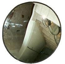 Espelho Convexo de 60 cm de Diâmetro - Acabamento em Borracha - Ati Glass