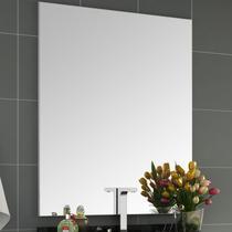 Espelho de Parede Pietra 100cmx80cm Móveis Bosi Branco -