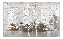 Espelho Decorativo Árvore Primavera Em Acrílico - Tecnotronics