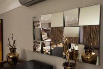 Espelho Decorativo DESIGNER Pequeno - 1,20 x 0,60 m - DesignerDecor