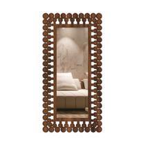Espelho decorativo moldura corpo inteiro palermo  65x130 - Creatus