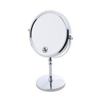 Espelho Duplo 35cm Para Banheiro Ferro Cromado Prestige - R25779 -