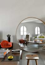 Espelho Gigante Redondo Designer - DesignerDecor