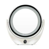 Espelho Maquiagem Makeup LED Ampliação 5X Rotação 360 Graus Carregamento USB - Boas