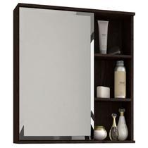 Espelho para Banheiro C/ 1 Porta e 1 Prateleira TREVISO - MGM -