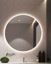 Espelho Redondo ( Grande ) Decoração Luz de LED - Reis E Missassi
