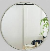 Espelho Redondo Lapidado 60cm com dupla face - Cebrace