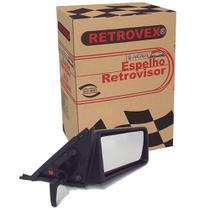 Espelho Retrovisor 2 4 Portas Lado Direito Com Controle Retrovex Monza 1991 A 1993 Rx2224 -