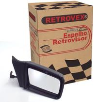 Espelho Retrovisor 2 4 Portas Lado Direito Com Controle Retrovex Monza 1994 A 1996 Rx2216 -