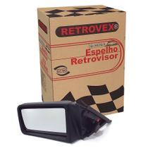 Espelho Retrovisor 2 4 Portas Lado Esquerdo Sem Controle Retrovex Monza 1985 A 1990 Rx2223 -