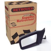 Espelho Retrovisor 2 E 4 Portas Lado Esquerdo Rx2217 Com Controle Monza -