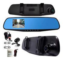 Espelho Retrovisor Com Câmera Frontal Full Hd E Câmera Ré - Dgs