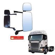 Espelho Retrovisor completo Scania S5 Lado Direito - Globo