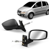 Espelho Retrovisor Externo Idea 2005 2006 2007 2008 2009 2010 2011 Controle Interno - Metagal