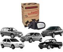 Espelho Retrovisor Lado Direito Corsa Wind SW Picape 1994/2002 / Classic Sedan (mod. ant) 1996/2019 - RETROVEX