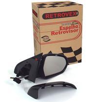 Espelho Retrovisor Lado Direito Eletrico Retrovex Agile 2009 A 2014 Rx2258 -