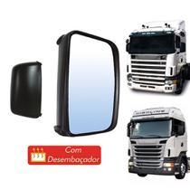 Espelho Retrovisor Scania S4 e S5 Lado Esquerdo - Globo