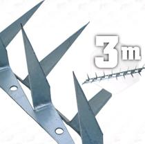 Espeto para muro lança dupla 2mm - 3 metros mandíbula - JJ