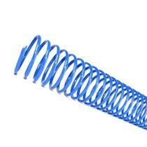 Espirais para Encadernação Azul 17mm 100 Folhas 100 und - Lassane