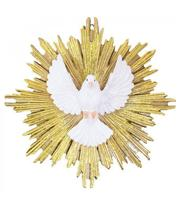 Espírito Santo 21cm - Enfeite Resina - Tascoinport