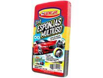 Esponja Automotiva Luxcar Multiuso 3 Unidades -