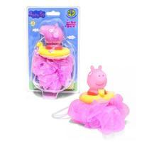 Esponja De Banho Peppa Pig Esguicha Água Dtc Rosa -