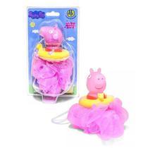 Esponja De Banho - Peppa Pig - Rosa - Dtc