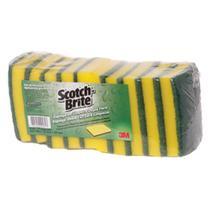 Esponja Dupla Face Scoth Brite - 10 Unidades - 3M