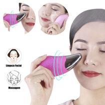 Esponja Elétrica Massagem Fácil Limpeza Rosto Recarregável - Cleanser