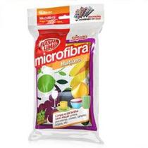 Esponja em Microfibra Multiuso Flash Limp - Fruits - Euro home