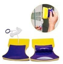 Esponja Limpador de Vidro Magnético para Janela Vidraça Aquário Rodo Box Aquário Limpa Vidro Imã -