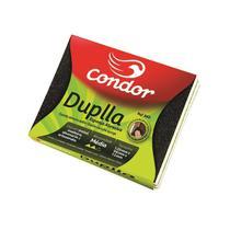 Esponja Lixa Dupla Abrasiva Condor Média com 2 unidades -860 -