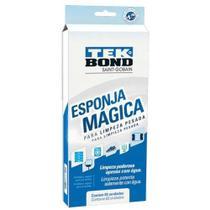 Esponja Mágica Tekbond com 3 unidades - Tek Bond -