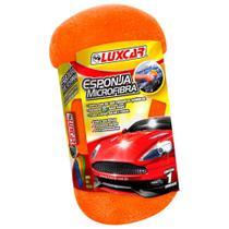 Esponja Microfibra Lava Seca Polimento Luxcar -