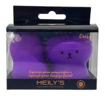 Esponja P/ Maquiagem E Limpeza Facial Meily's Kit -